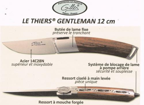 Couteau Thiers Gentleman